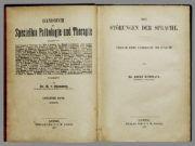 A. Kußmaul Psychiater Zürich Schweiz Buch Pathologie des Schweigens