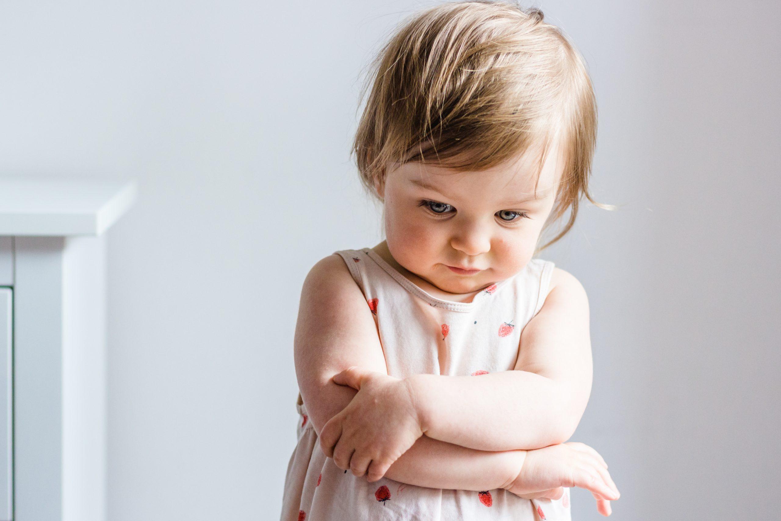 Kleinkind aus der Schweiz welches Sympthome des selektiver Mutismus zeigt